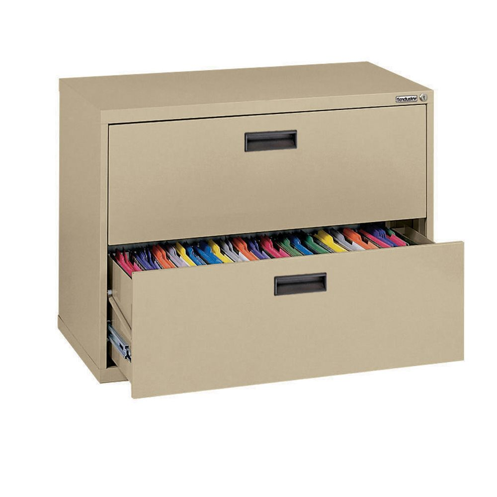 400 Series 2 Drawer Lateral File Tropic Sand Color