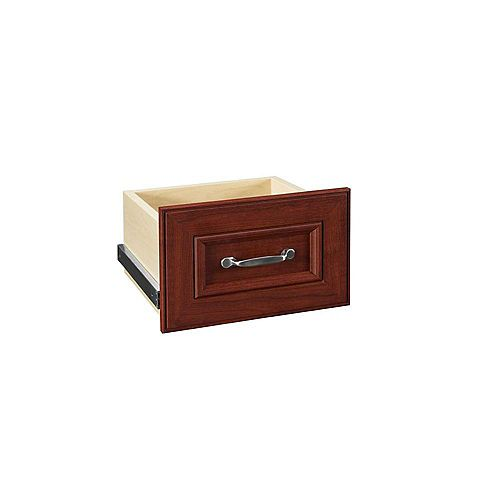 ClosetMaid Impressions 16-inch Dark Cherry Narrow Drawer Kit