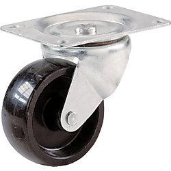 Everbilt Roulette pivotante en polypropylène de 50 mm avec capacité de charge de 57 kg