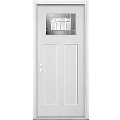 Croxley 32-inch x 4 9/16-inch Fibreglass Smooth Right-Hand Entry Door - ENERGY STAR®