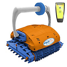 Aquafirst Turbo Robotic Wall Climber Cleaner with Remote Control for In-Ground Pools