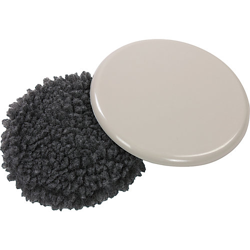 Patins réutilisables et ronds de 127 mm de glissement à faible friction, paquet de 4
