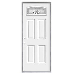 32-inch x 4 9/16-inch Providence Camber Fan Right Hand Entry Door