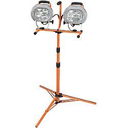 HDX Lampe de travail avec trépied, 1000W