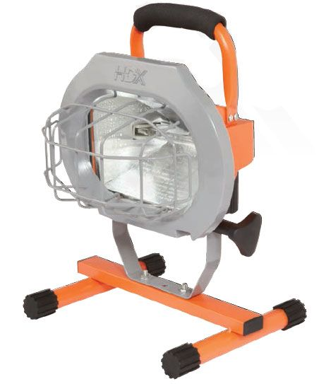 HDX 500W Portable Work Light