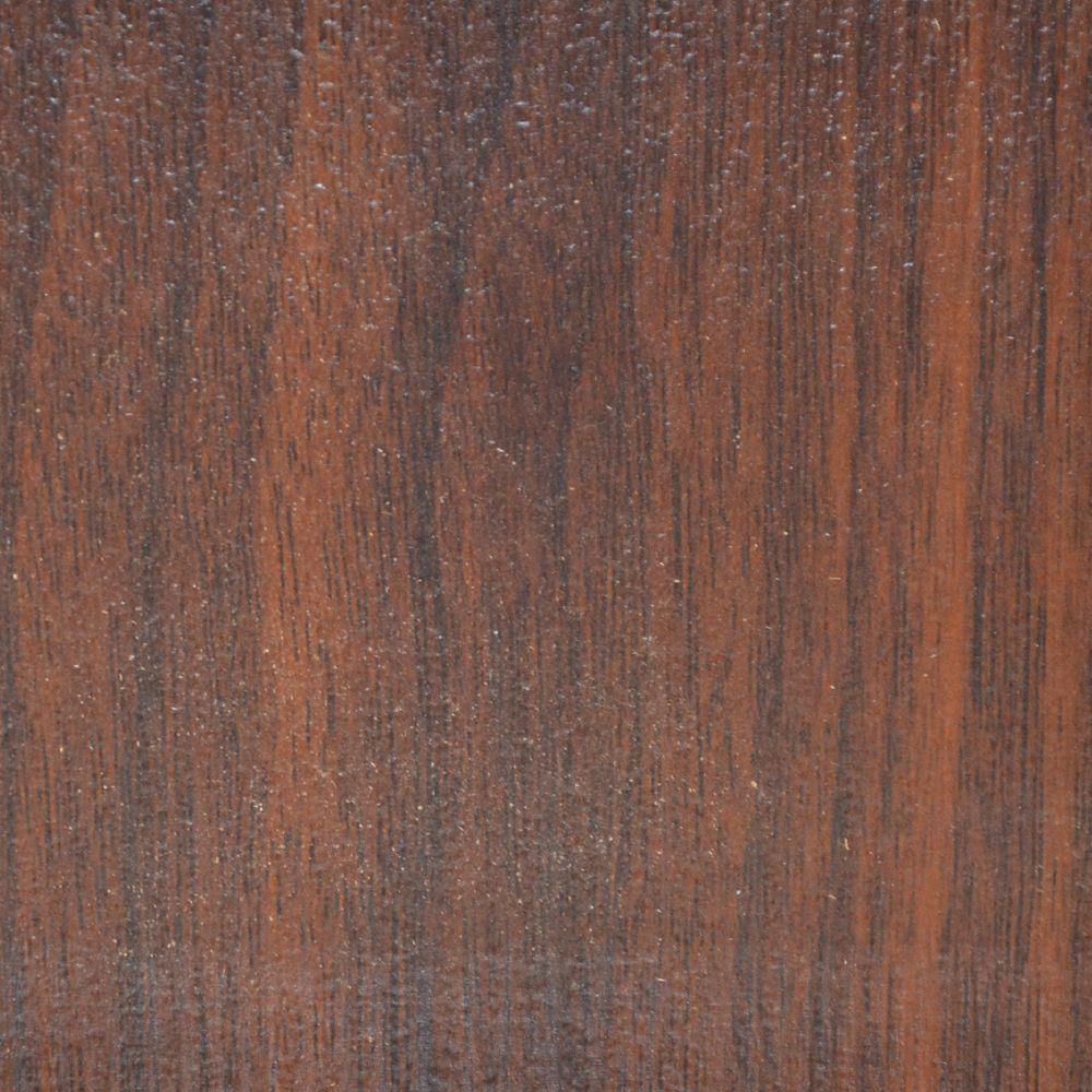 Échantillion 8 MM plancher Stratifié  Noyer Framboise