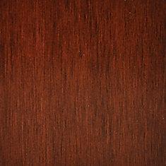 Échantillon - Plancher, bois massif, érable teinté merisier