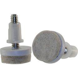Everbilt 1-1/2-inch Threaded Stem Furniture Glides with Felt Base (4 per Pack)