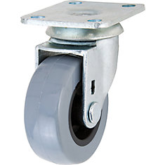 2 inch TPR Swivel Caster with 88 lb. Load Rating
