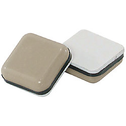 Everbilt 1 inch Square Low Friction Slider Pads (2-Pack)