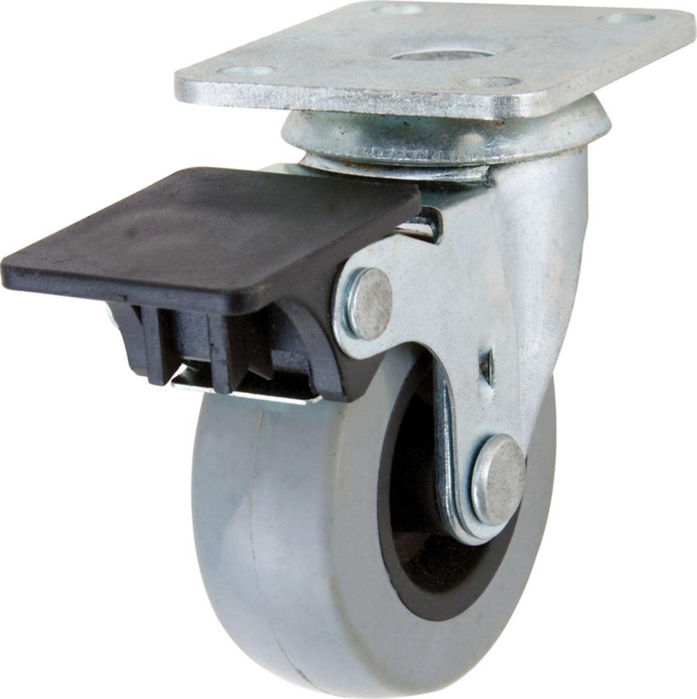 everbilt roulette pivotante avec frein pour service moyen home depot canada. Black Bedroom Furniture Sets. Home Design Ideas