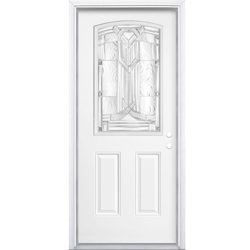 32-inch x 4 9/16-inch Chatham Camber 1/2-Lite Left Hand Door