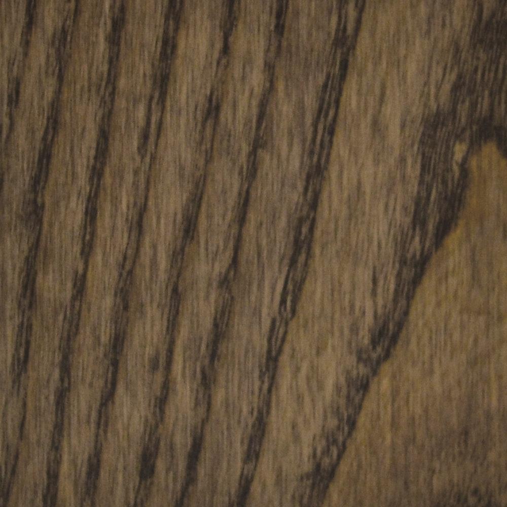 Échantillon - Plancher, bois massif, Ash Stained carbone