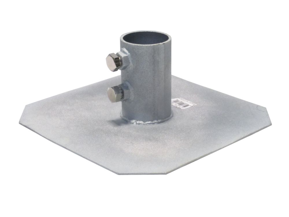 HD Zinc-Oxide-Coated Steel Dock Foot Plate