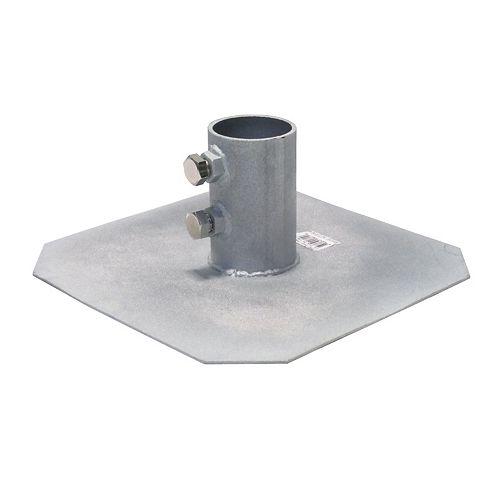 Patriot Docks HD Zinc-Oxide-Coated Steel Dock ft.  Plate