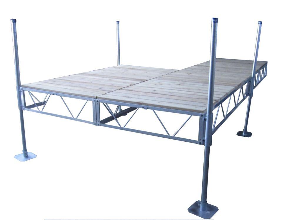 24 Feet  Patio Dock w/Cedar Decking