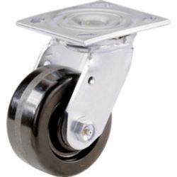 Everbilt Roulette pivotante de 102 mm résistante à roues phénoliques, capacité de charge 227 kg