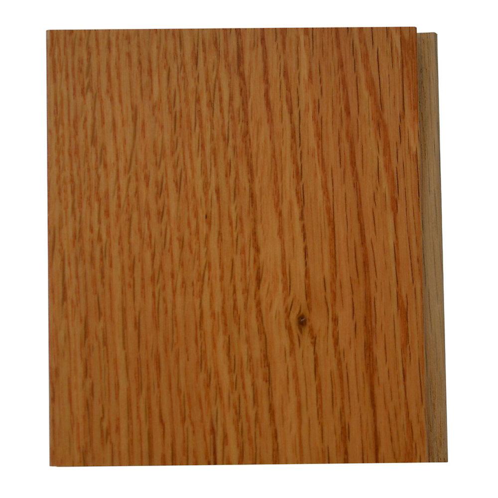 Échantillon - Plancher, bois massif, 3 1/4 po, chêne classique