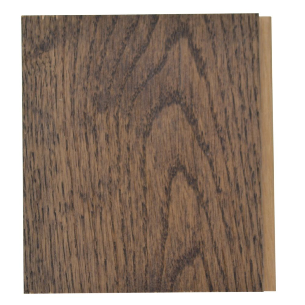 THS Charcoal Oak 3 1/4-inch Hardwood Flooring Sample