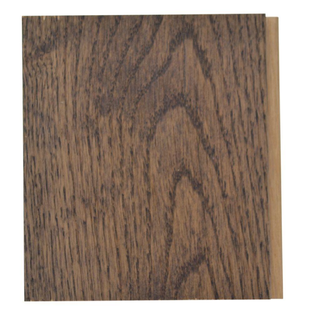 THS Charcoal Oak 3 1/4-inch Hardwood Flooring Sample