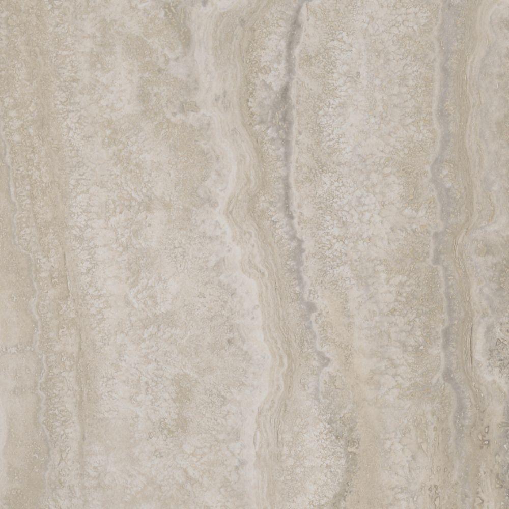 Allure 12 in.  x 23.82 in.  Aegean Travertine Natural Luxury Vinyl Tile Flooring (Sample)