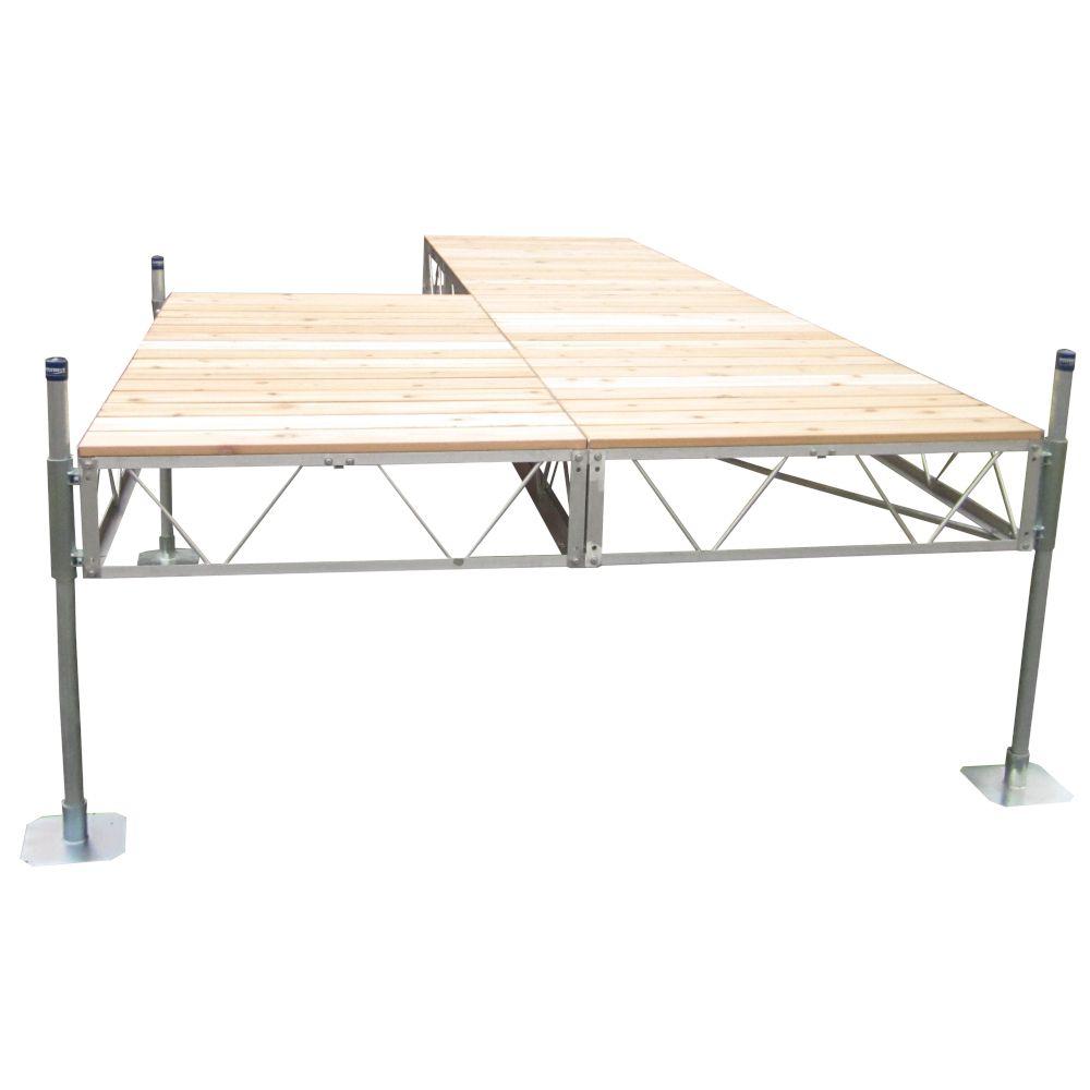 40 Feet  Patio Dock w/Cedar Decking