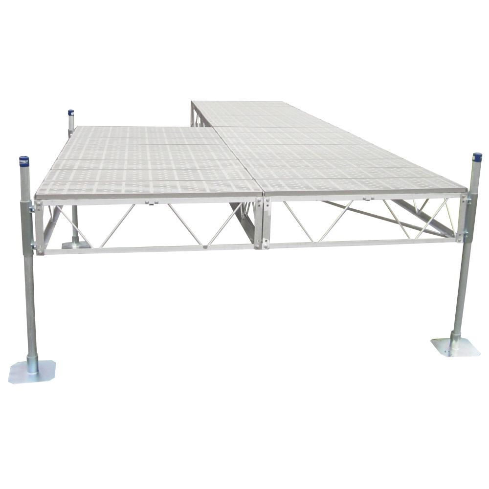 Patriot Docks 32 ft. Patio Dock with Poly Decking