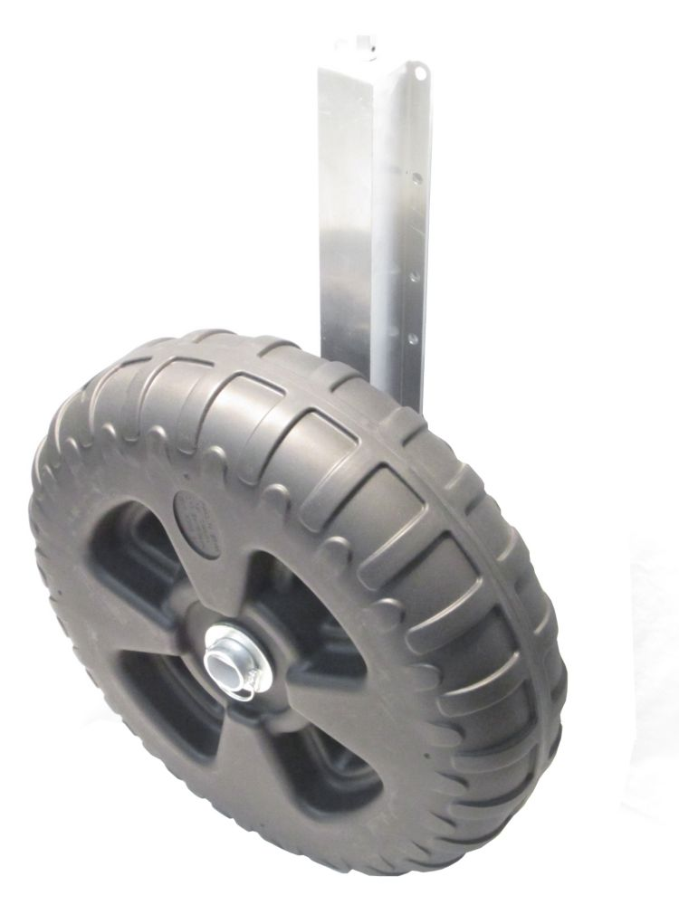 Axe/Niveleur et roues en polymère de 24 po de quai