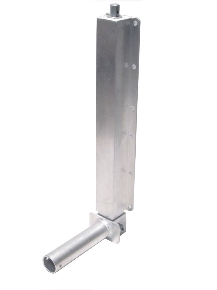 15-inch Extending Aluminum Dock Jack with Bolt-On Axle