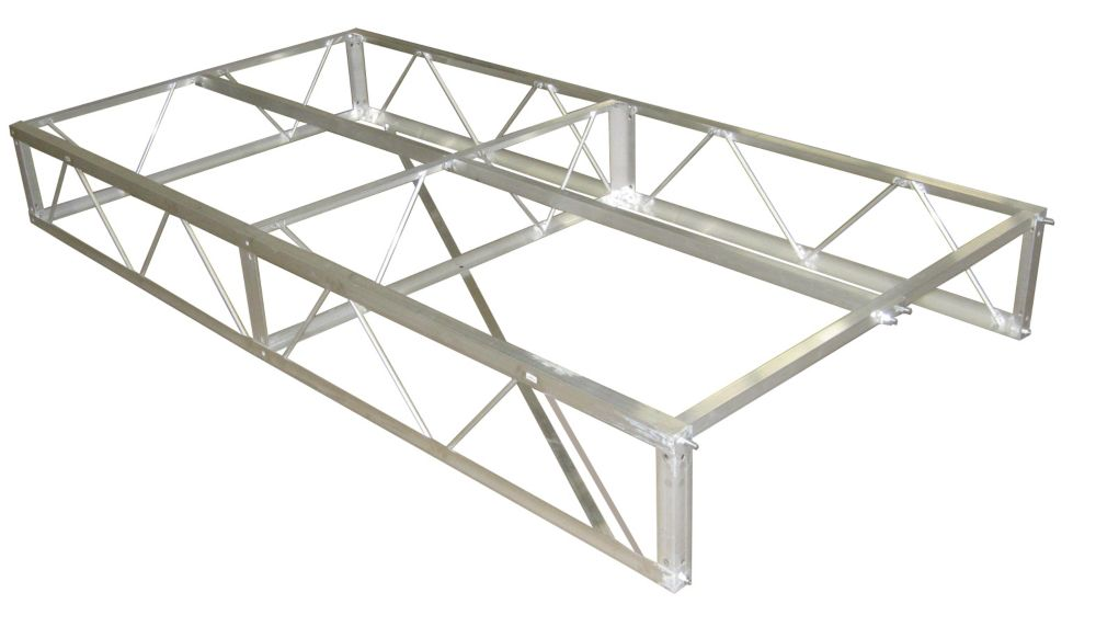 4 ft. x 8 ft. Aluminum Dock Frame Assembly