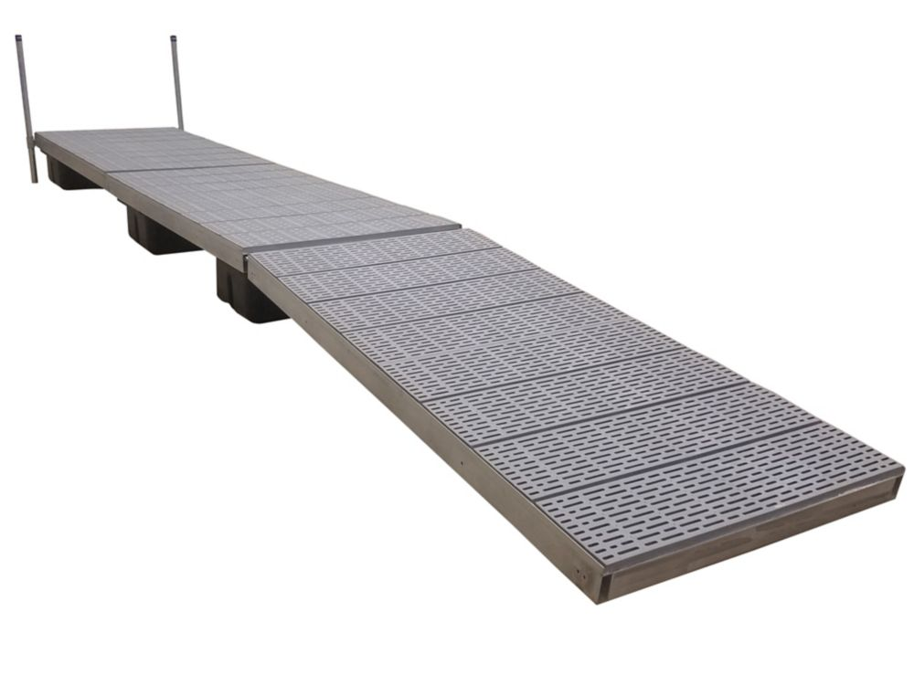32 Feet Lateral Dock w/Poly Decking 10586 Canada Discount