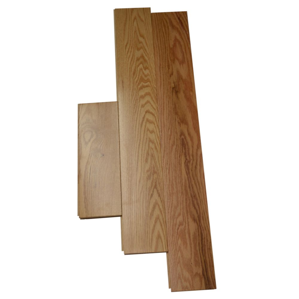 Natural Red Oak 3/4-inch Thick x 4 14-inch W Hardwood Flooring (20 sq. ft. / case)