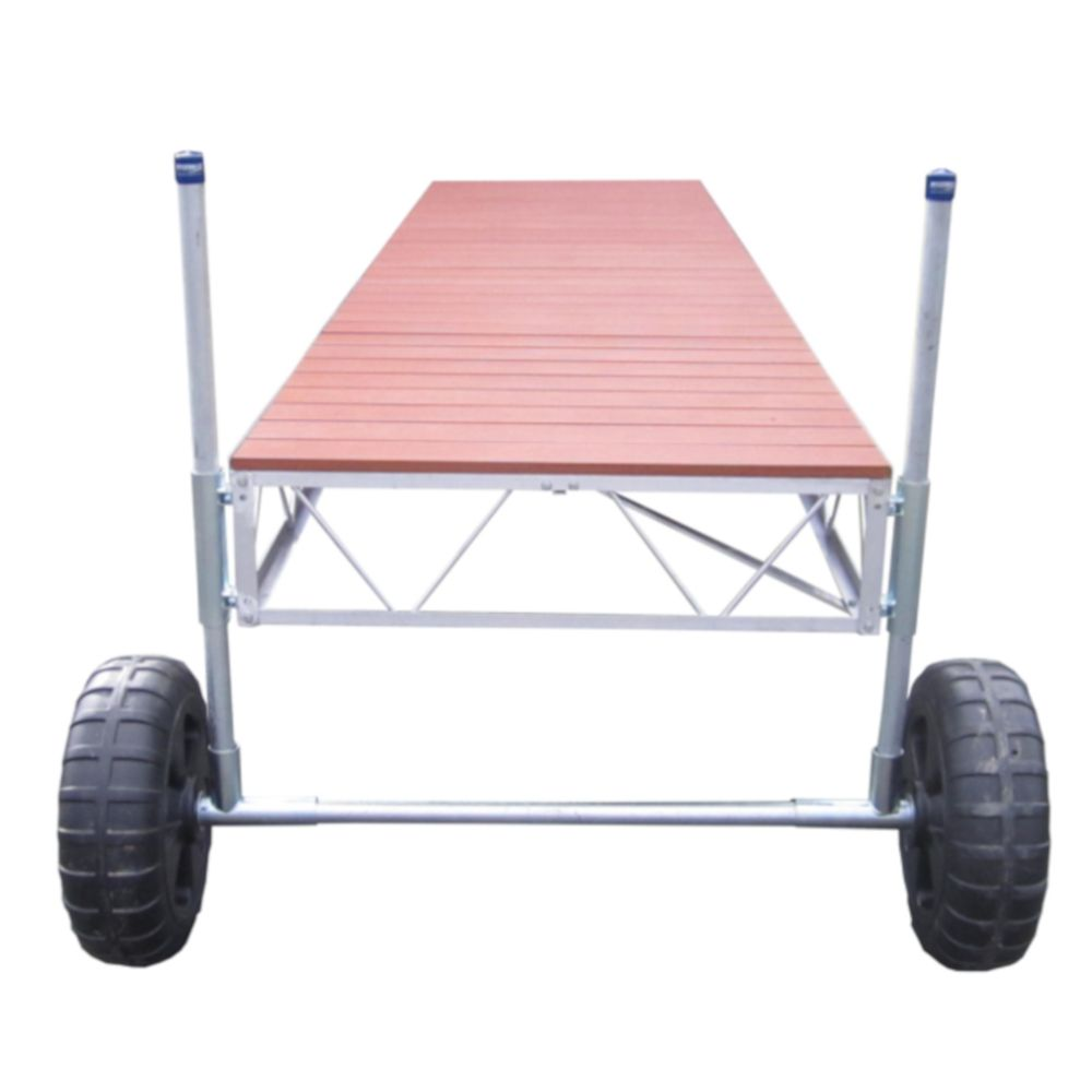 32 Feet  Straight Roll-in Dock w/Aluminum