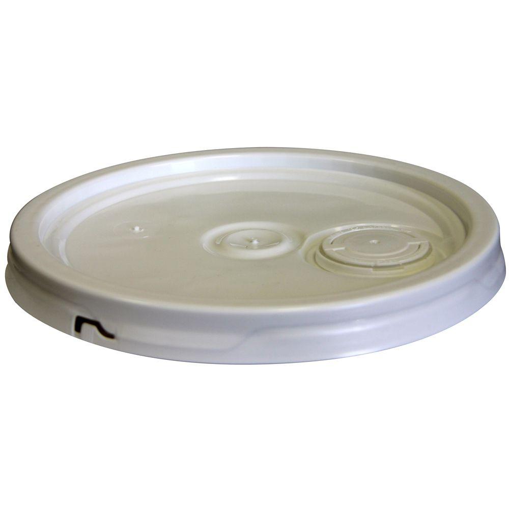 19L / 5 Gallon-Blanc Joint et Flex Bec Lid
