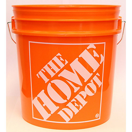 Thd 8L/2 Gallon Orange Home Depot Logo'Ed Bucket | The Home Depot