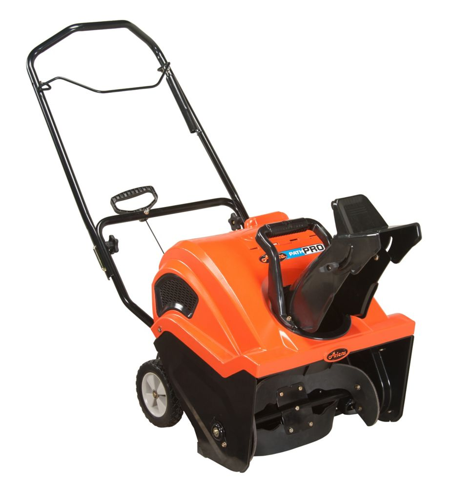 Path Pro 136cc Single Stage Electric Start Gas Snow Blower with 21-Inch Clearing Width