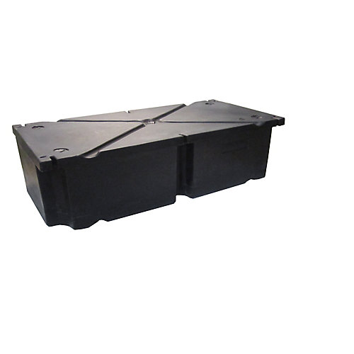 48 Inches x24 Inches x12 Inches  Rectangular Float