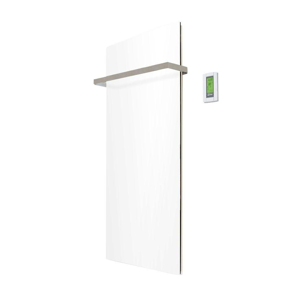 Lava Glass Pure White Kit: Includes 500W Radiant Panel, Thermostat and One Lava Bar Flat (35 Inch...
