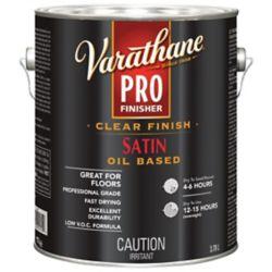 Varathane Fini Pro Clair Varathane Intèrieur (À Base D'huile)