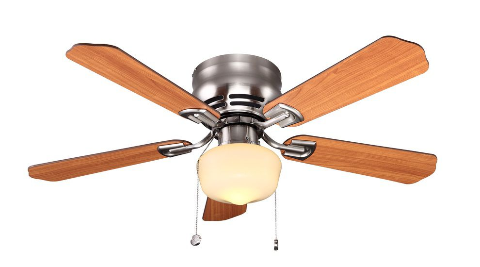 42-inch Middleton Ceiling Fan with Brushed Nickel Finish