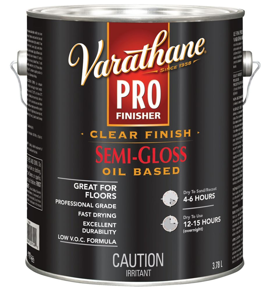 Pro Finisher Clear Semi Gloss 3.78l