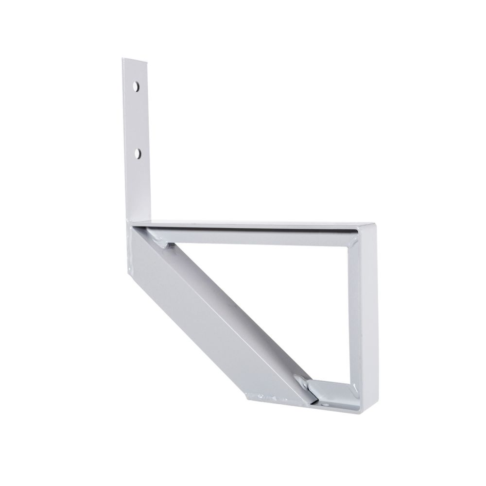 1-Step White Aluminium Stair Riser Includes one ( 1 ) riser only