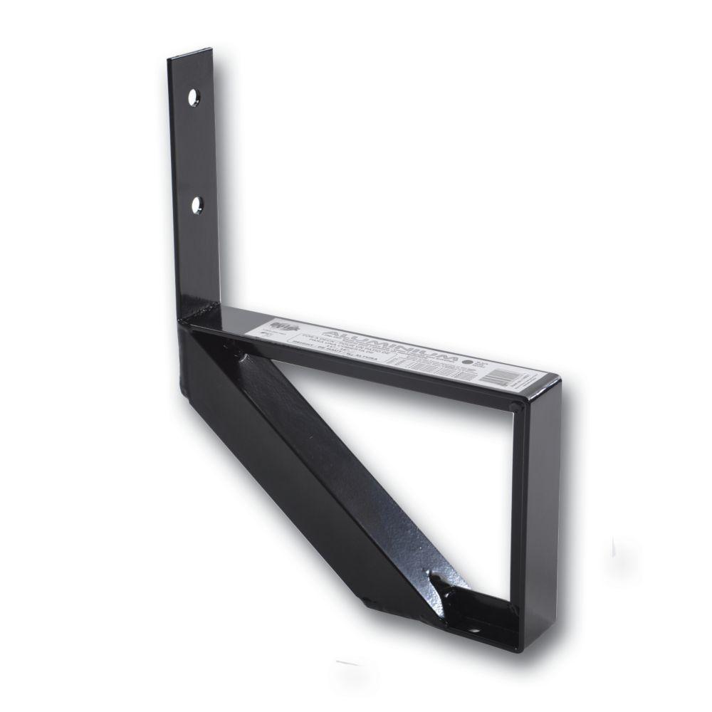 1-Step Black Aluminium Stair Riser Includes one ( 1 ) riser only