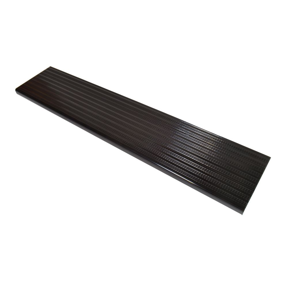 48 Inch Black Aluminum Step
