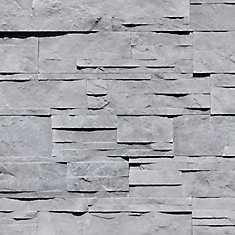 Grey 3 inch x 15.5 inch  wall stone (5 sq.ft. / case)
