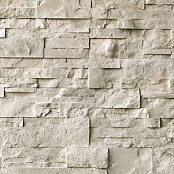EasyStone Beige 3 inch x 15.5 inch wall stone (5 sq.ft. / case)