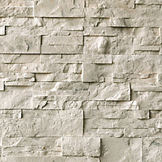 Beige 3 inch x 15.5 inch wall stone (5 sq.ft. / case)