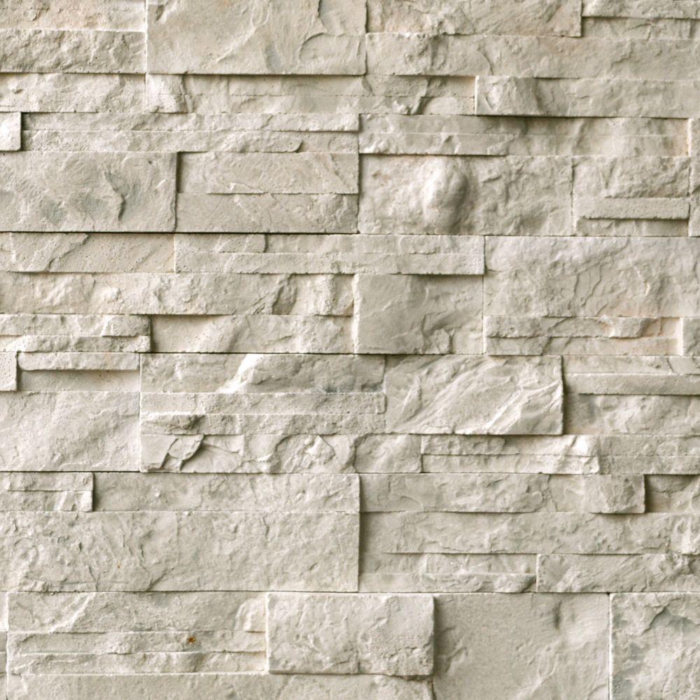 EasyStone Beige 3 inch x 15.5 inch wall stone (5 sq.ft. / case)