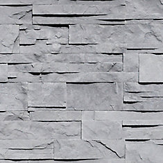 Grey 3 inch x 15.5 inch corner wall stone (4 linear ft. / case)