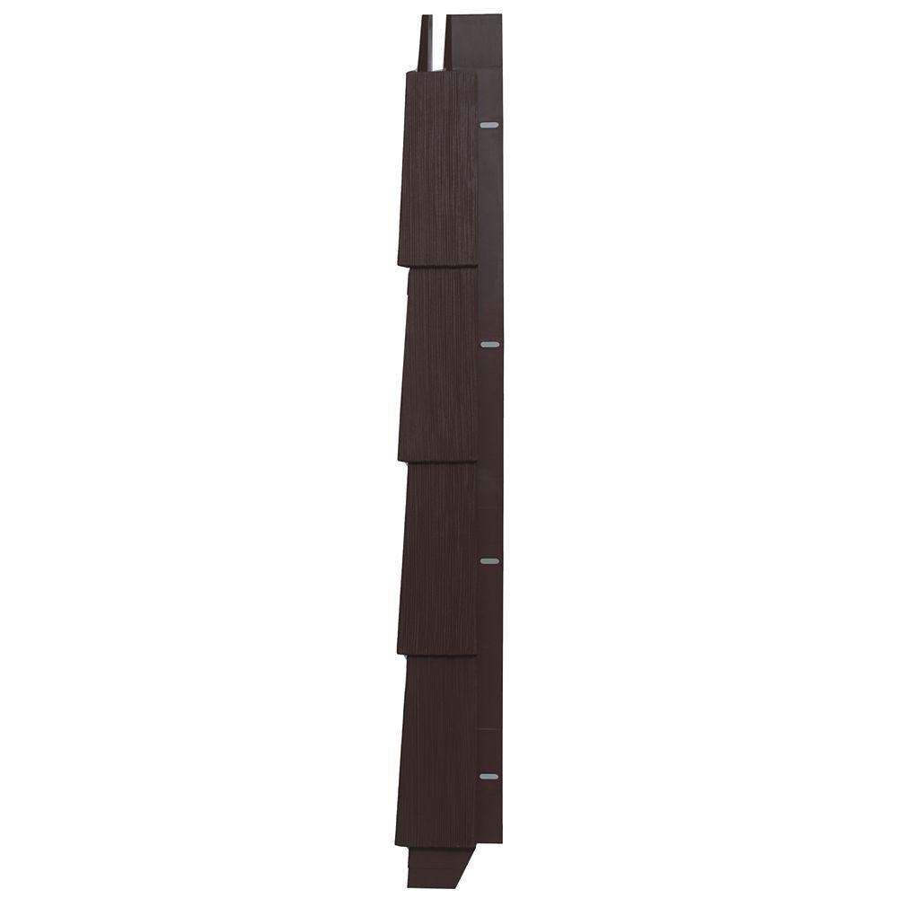 Timbercrest Perfection Cartons de Coin Brun